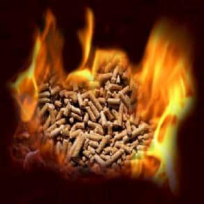 træpiller brænder